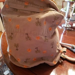 Tommy Bahama pool tote/backpack with hat